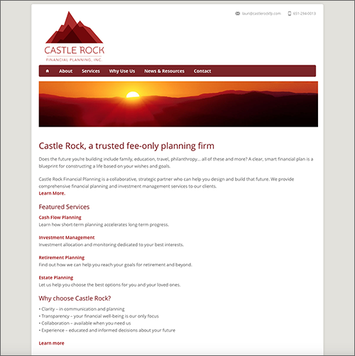 Castle Rock Financial Planning Website ING Site – Best Financial Planning Sites