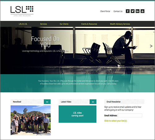 LSL CPAs and Advisors Website - ING Site